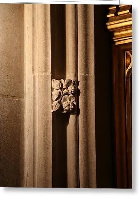 Arch Greeting Cards - Washington National Cathedral - Washington DC - 011330 Greeting Card by DC Photographer
