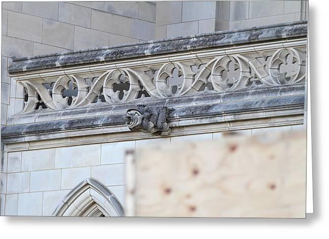 Pray Greeting Cards - Washington National Cathedral - Washington DC - 01134 Greeting Card by DC Photographer