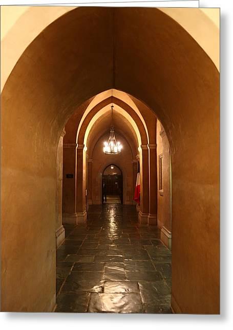 Washington National Cathedral - Washington Dc - 011340 Greeting Card by DC Photographer