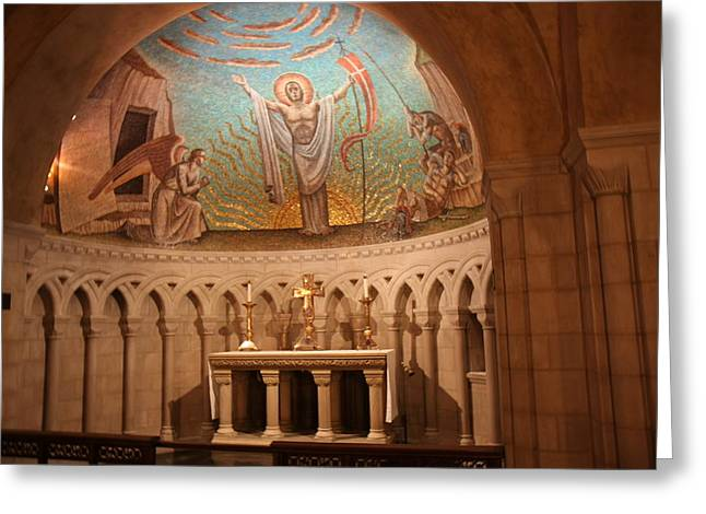 Washington National Cathedral - Washington DC - 011370 Greeting Card by DC Photographer