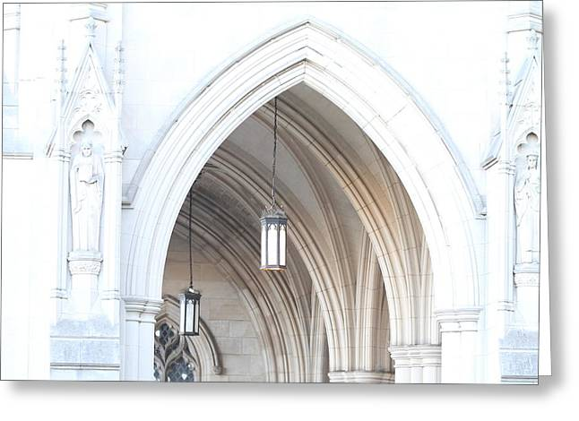 Washington National Cathedral - Washington Dc - 01138 Greeting Card by DC Photographer