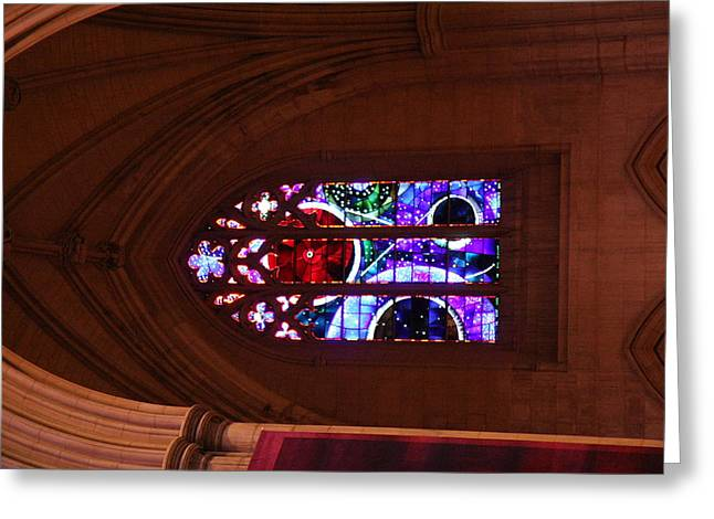 Washington National Cathedral - Washington Dc - 011380 Greeting Card by DC Photographer