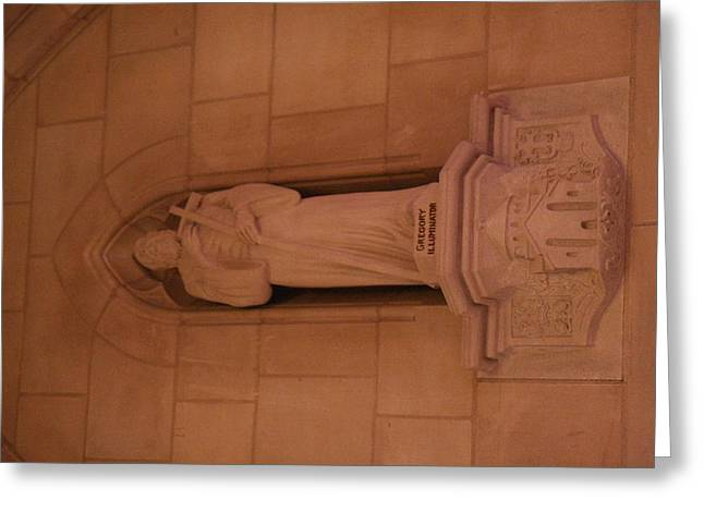 Prayer Greeting Cards - Washington National Cathedral - Washington DC - 011386 Greeting Card by DC Photographer
