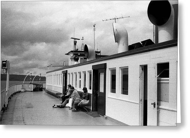 Haist Greeting Cards - Washington State Ferry Nisqually Greeting Card by Paul Haist