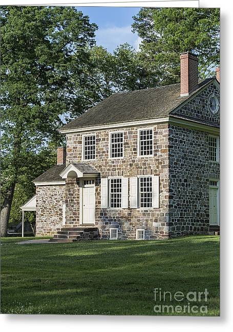 Fieldstone Greeting Cards - Washingtons Headquarters Greeting Card by John Greim