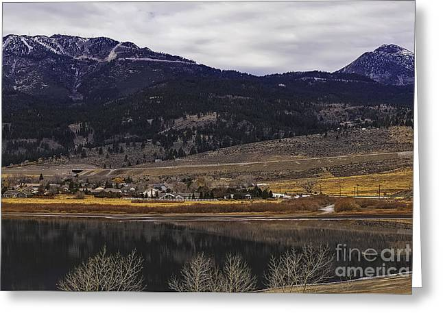 Charming Vistas Greeting Cards - Washoe Valley Greeting Card by Nancy Marie Ricketts