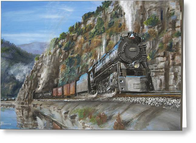 Locomotive Greeting Cards - Wasp Rock Tunnel Greeting Card by Christopher Jenkins