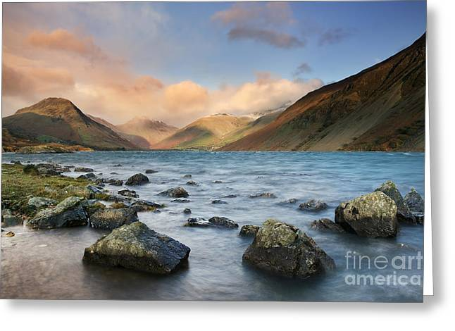 Gable Greeting Cards - Wastwater Greeting Card by Rod McLean