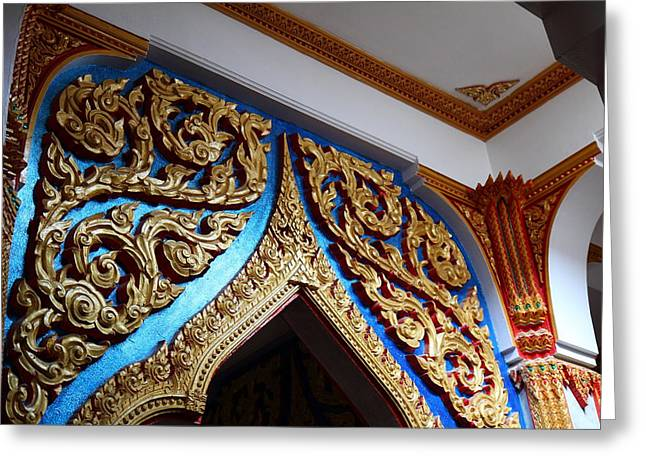 Wat Chalong - Phuket Thailand - 011319 Greeting Card by DC Photographer