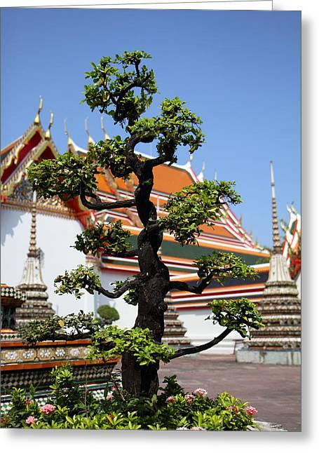 Wat Pho - Bangkok Thailand - 011323 Greeting Card by DC Photographer