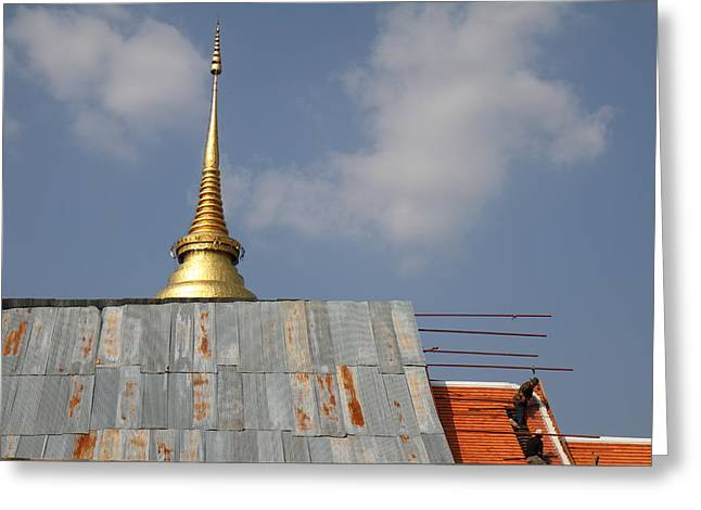 That Greeting Cards - Wat Phra That Lampang Luang - Lampang Thailand - 011313 Greeting Card by DC Photographer