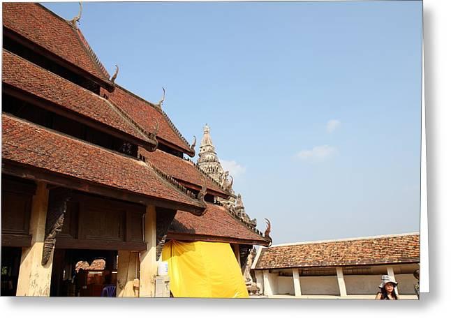 That Greeting Cards - Wat Phra That Lampang Luang - Lampang Thailand - 01134 Greeting Card by DC Photographer