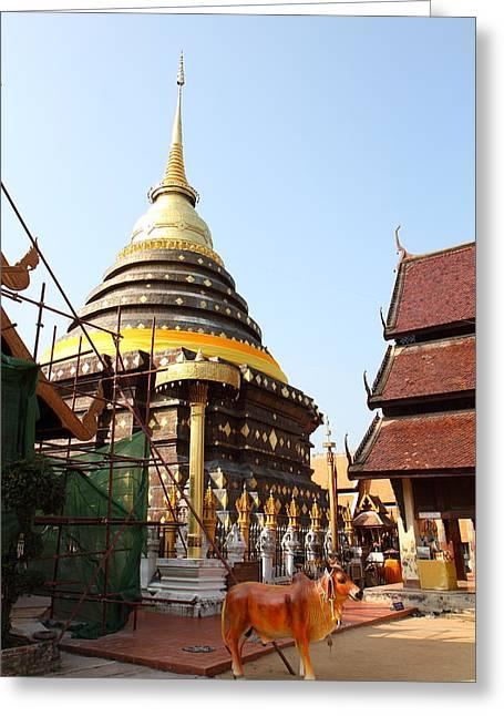 That Greeting Cards - Wat Phra That Lampang Luang - Lampang Thailand - 01135 Greeting Card by DC Photographer
