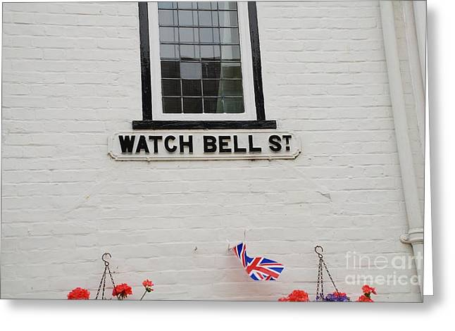 Watch Bell Street Rye Greeting Card by David Fowler