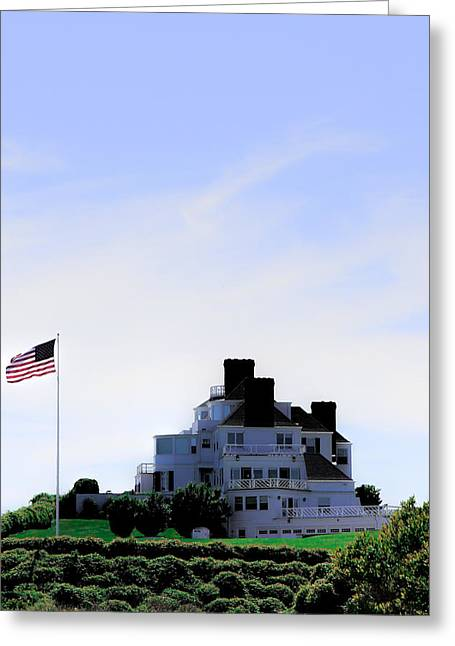 Watch Hill  Greeting Card by Tom Prendergast