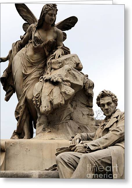 Watching Over Greeting Cards - Watching Over in Vienna Greeting Card by John Rizzuto