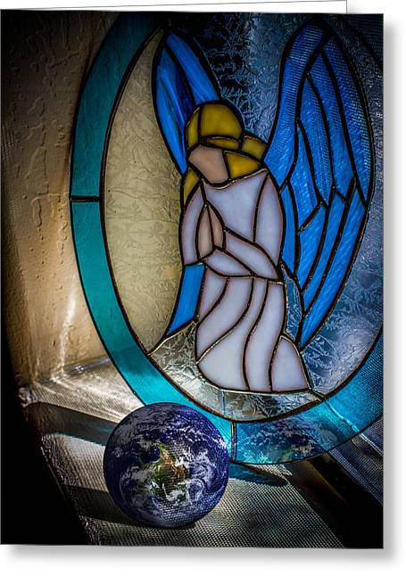 Prayer Warrior Greeting Cards - Watching Over Greeting Card by Randy Turnbow