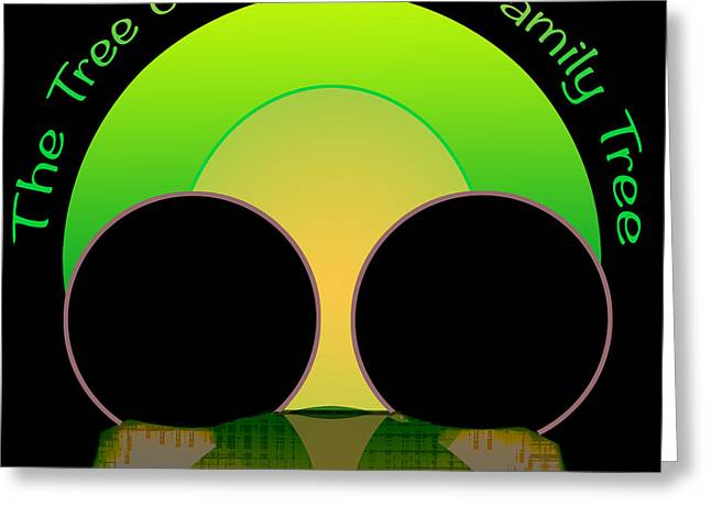Exaltation Digital Art Greeting Cards - Watching Over The Family Tree Greeting Card by Roger Bushman