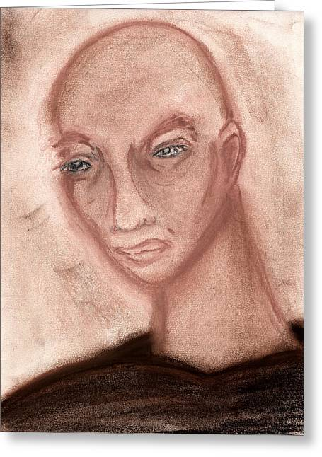 Watching Pastels Greeting Cards - Watching Greeting Card by Roger Hanson