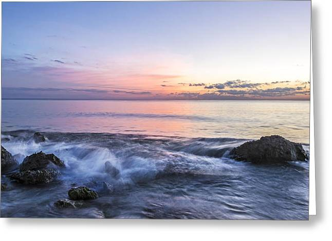 Fine Art Photography Galleries Greeting Cards - Watching the Last Light Greeting Card by Jon Glaser