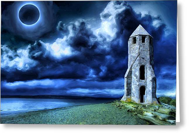 All Along The Watchtower Greeting Cards - Watchtower Greeting Card by Dominic Piperata