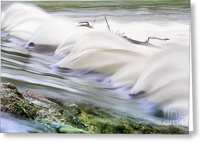 Dander Greeting Cards - Water breaks Greeting Card by Odon Czintos