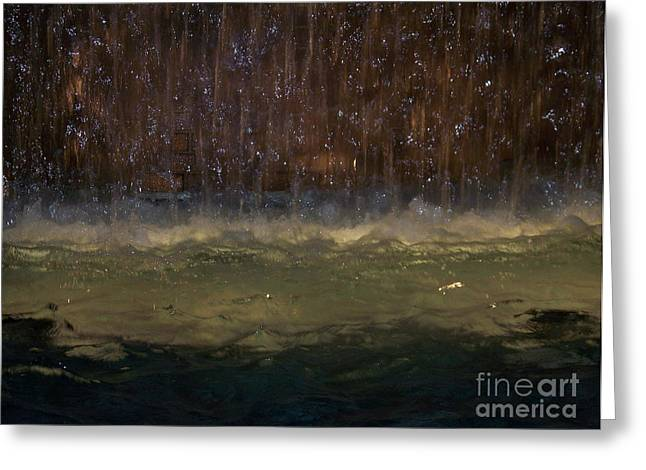 Kevin Croitz Greeting Cards - Water Dance Greeting Card by Kevin Croitz