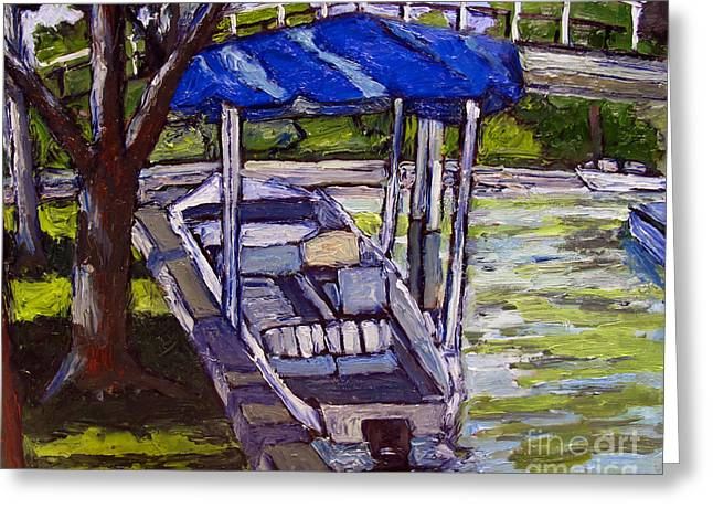 Sunday Picnic Greeting Cards - Water Draws the Money Greeting Card by Charlie Spear