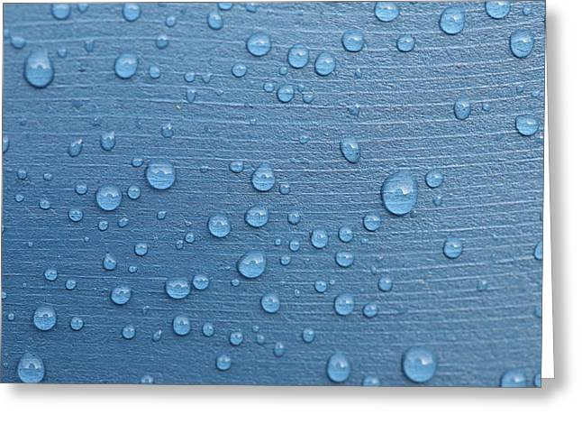 Mark Severn Greeting Cards - Water Drops Greeting Card by Mark Severn