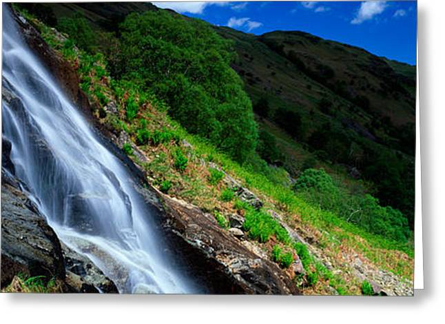 Gills Rock Greeting Cards - Water Flowing Over Rocks, Sourmilk Greeting Card by Panoramic Images