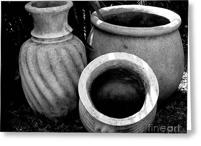 Water Jugs Greeting Card by Mark Szep