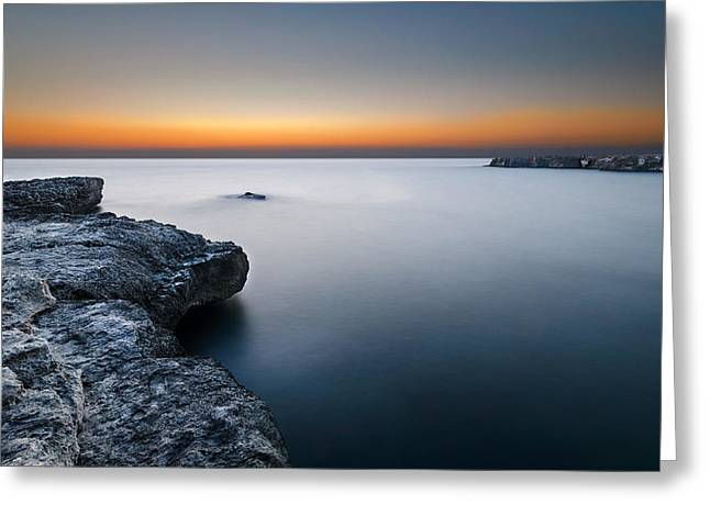 Reflex Greeting Cards - Water light Greeting Card by Tommaso Di Donato