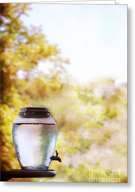 Water Jug Photographs Greeting Cards - Water Greeting Card by Margie Hurwich