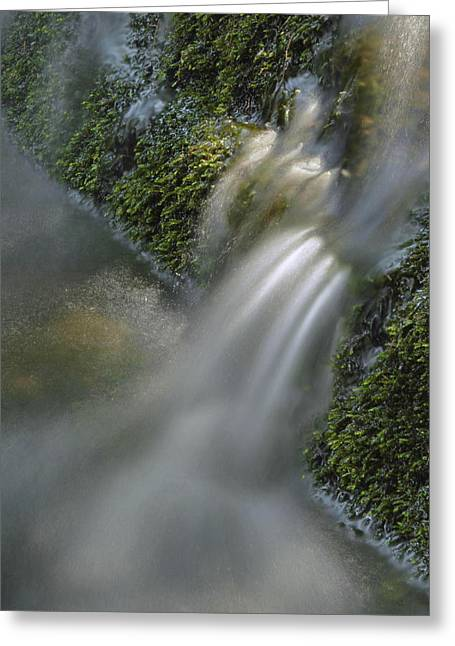 Water Movement Greeting Cards - Water Movement 12 Greeting Card by Stephen  Vecchiotti