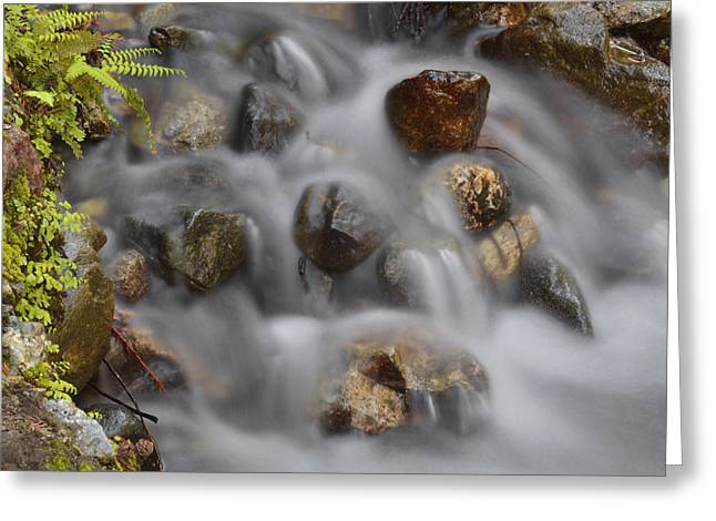 Big Sur Greeting Cards - Water Movement 80 Greeting Card by Stephen  Vecchiotti