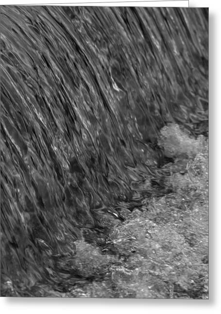 Thomas Young Photography Greeting Cards - Water Over The Dam Greeting Card by Thomas Young