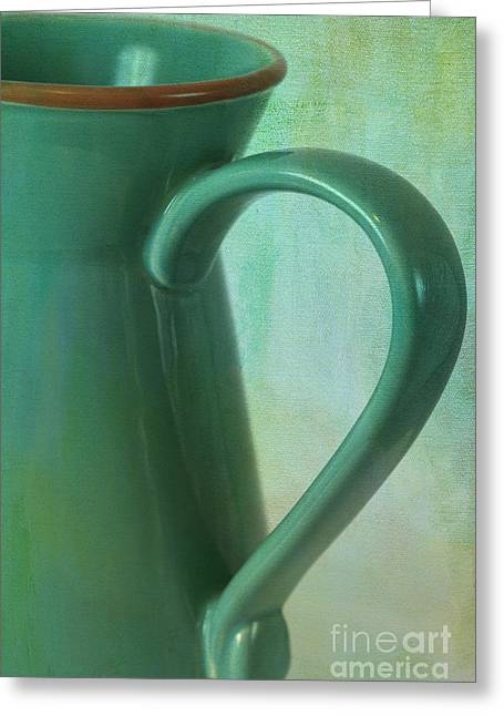 Water Pitcher Greeting Cards - Water Pitcher Greeting Card by Carolyn Rauh