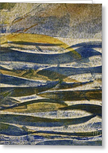 Photorealism Greeting Cards - Water print Greeting Card by Deborah Talbot - Kostisin