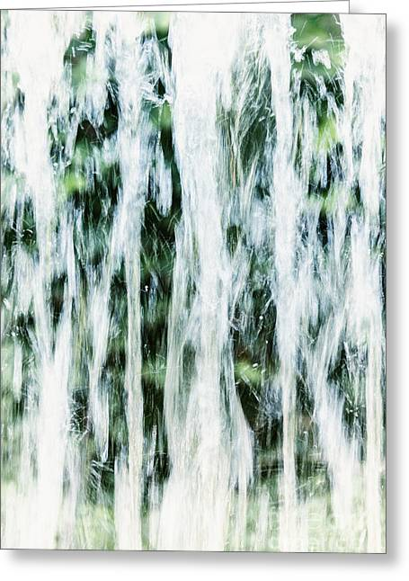 Water Spray Greeting Card by Margie Hurwich