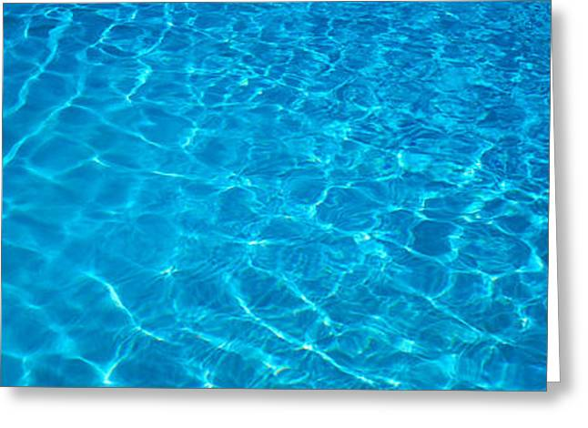 Abstract Movement Greeting Cards - Water Swimming Pool Mexico Greeting Card by Panoramic Images