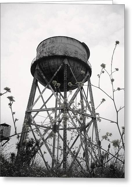 Slaves Digital Art Greeting Cards - Water Tower Greeting Card by Mike Grubb