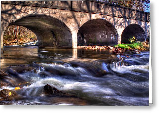 Rochester Artist Greeting Cards - Water under bridge Greeting Card by Tim Buisman