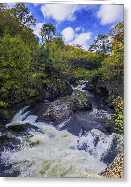 Water Under The Bridge Greeting Card by Ian Mitchell