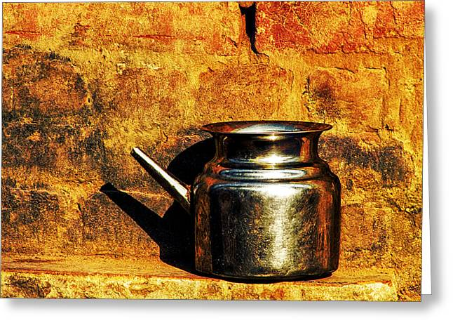 Water Vessels Greeting Cards - Water Vessel Greeting Card by Prakash Ghai
