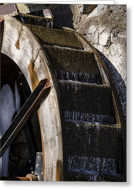 Radnor Greeting Cards - Water Wheel Mill -  Eastern College Greeting Card by Bill Cannon