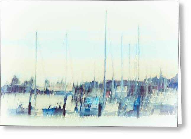 Impressionist Photography Greeting Cards - Watercolor Greeting Card by Constance Fein Harding