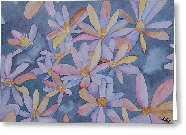 Bloodroot Greeting Cards - Watercolor - Impressions of Bloodroot Greeting Card by Cascade Colors