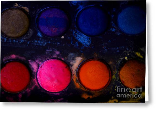 Avant Garde Photograph Greeting Cards - Watercolors Greeting Card by Victoria Herrera