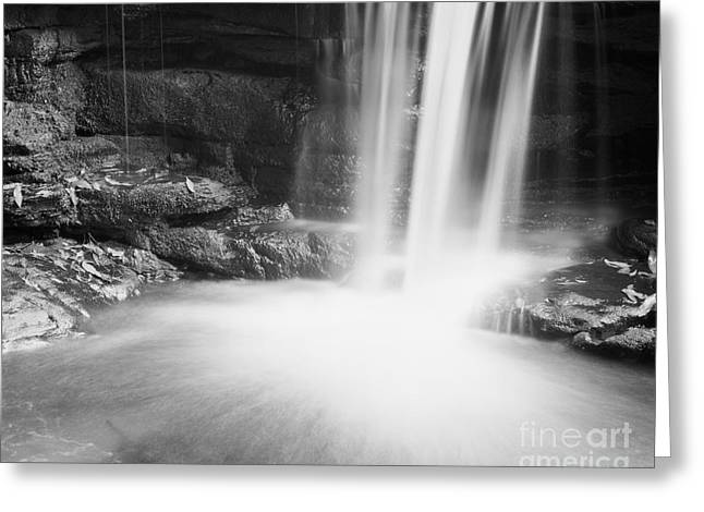 Scenic Waterfall Greeting Cards - Waterfall 01 Greeting Card by Colin and Linda McKie