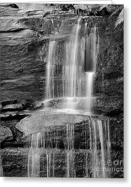 Scenic Waterfall Greeting Cards - Waterfall 02 Greeting Card by Colin and Linda McKie
